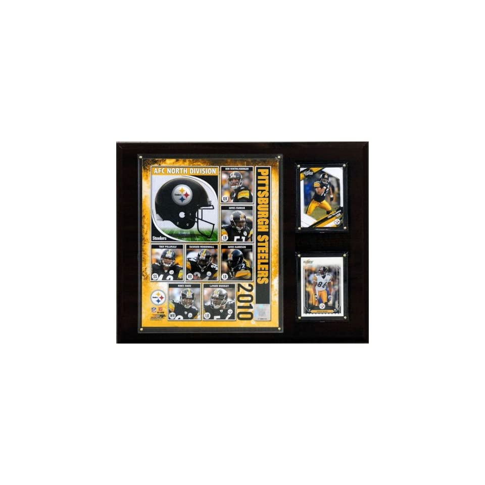 NFL Pittsburgh Steelers 2010 Team Plaque   Framed NFL Photos, Plaques and Collages