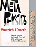 Metaphysics (A continuum book) (0816425701) by Coreth, Emerich