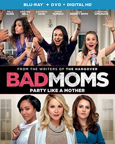 Blu-ray : Bad Moms (With DVD, Ultraviolet Digital Copy, Digitally Mastered in HD, 2 Pack, Snap Case)