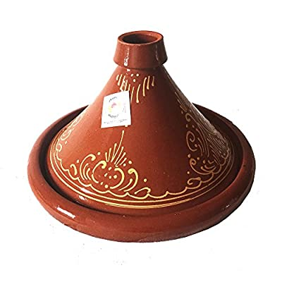 Moroccan 21cm Tagine Cooking Pot (1 Person)