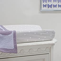 Lambs & Ivy French Lavender Changing Pad Cover