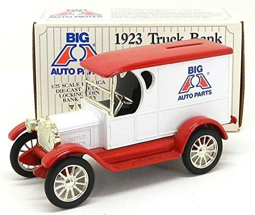 Ertl 1923 1/25 Scale Die Cast Big A Auto Parts Truck Bank