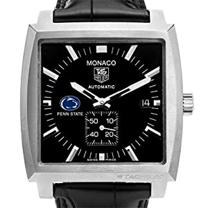 Penn State TAG Heuer Watch - Mens Monaco Watch by TAG Heuer