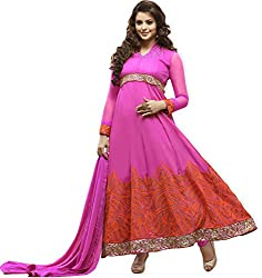 atisundar classy Pink Embroidered Anarkali- 5109_32_29007
