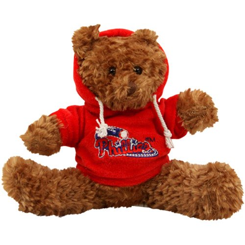 Philadelphia Phillies Musical Stuffed Animal Hoodie Bear at Amazon.com