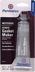 Permatex 29132 MotoSeal 1 Ultimate Gasket Maker Grey, 2.7 oz.