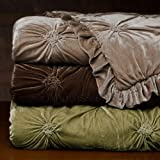 Empress Silk Velvet Comforter Set