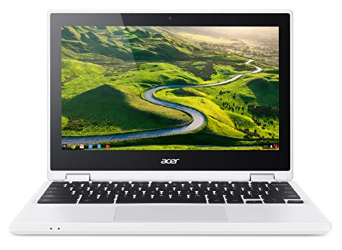 Acer R11 CB5-132T 11.6-inch Convertible Chromebook (Intel Celeron N3050, 2 GB RAM, 16 GB eMMC, Integrated Graphics, Chrome OS) - White