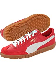 Puma Men's Puma Oslo Ribbon Red And Whisper White Synthetic Sneakers - 11 UK