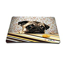 Cute Puppy Slim Silicone Mice Mouse Pad Mat Mousepad For Optical Mice Mouse MP-043