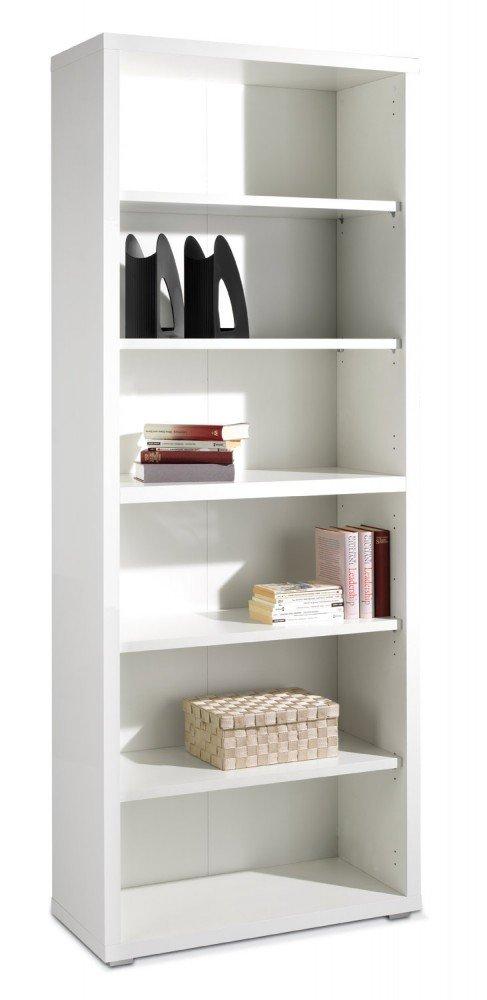 Schmales Regal 80cm x 220cm x 36cm weiß Silke online kaufen