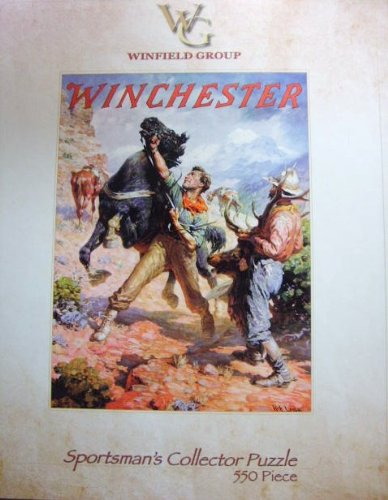 Winchester 550 Piece Sportsman's Collector Puzzle - 1