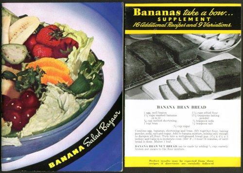 Meloripe Fruit Company Banana Recipe Salad Bazaar Booklet 1937