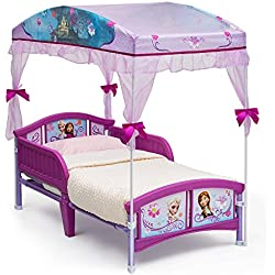 Disney Frozen Canopy Toddler Bed