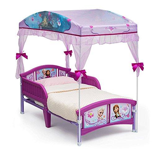 Disney Frozen Canopy Toddler Bed