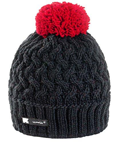 Unisex Winter Cappello invernale di lana Berretto Beanie hat Pera Jersey Sci Snowboard di moda (Cookie 43)