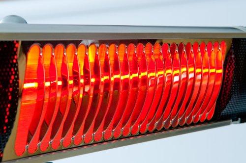1300-Watt-Infrared-Wall-Mount-Heater-Indooroutdoor-Commercial-Residential-StainlessAluminium-heat-dissipating-construction