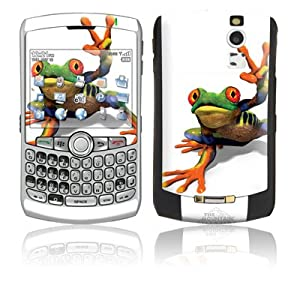 Peace Out Frog Design Protective Skin Decal Sticker for Blackberry Curve 8330 Cell Phones
