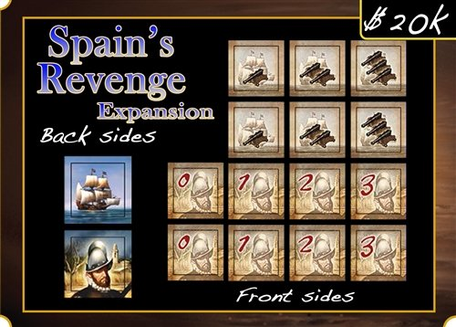 Francis Drake: Spain's Revenge Expansion (Francis Drake Board Game compare prices)