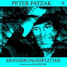 Erinnerungssplitter Hörbuch von Peter Patzak Gesprochen von: Peter Patzak