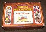 50 Extra Large British Pub Coasters