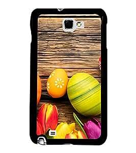 Printvisa Ultra Ester Eggs 2D Hard Polycarbonate Designer Back Case Cover for Samsung Galaxy ...