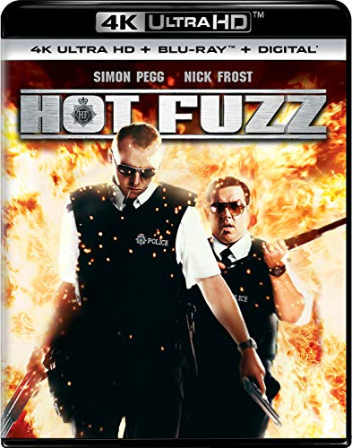 4K Blu-ray : Hot Fuzz (2 Discos)