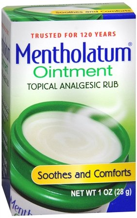 Special pack of 6 MENTHOLATUM OINTMENT JAR 1