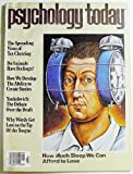 img - for Psychology Today, Volume 16 Number 3, March 1982 book / textbook / text book