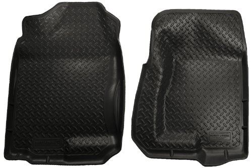 Husky Liners Classic Style Custom Fit Molded Front Floor Liner for Select Chevrolet/Cadillac/GMC/Hummer Models (Black) (Husky Floor Mats Chevy Silverado compare prices)