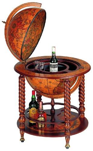 Freestanding globe bar