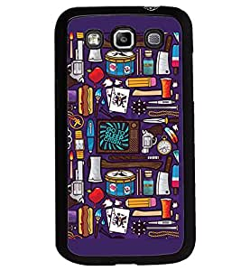 Printvisa Assorted Pattern Back Case Cover for Samsung Galaxy Quattro i8552::Samsung Galaxy Quattro Win i8552