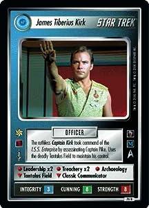 Star Trek Ccg 1e Mm Mirror Mirror James Tiberius Kirk 76r+