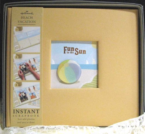 Hallmark Instant Scrapbooks SBK3042 Beach Vacation Fun in the Sun