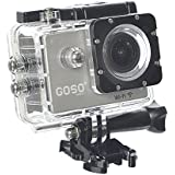 GOSO Waterproof Sport Action Camera, Wi-Fi HD 1080P 12MP 170 Degree View Angle & 2.0 Inch LCD With Mounting Accessories