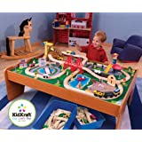 KidKraft Ride Around Town Train Set with Table 17836