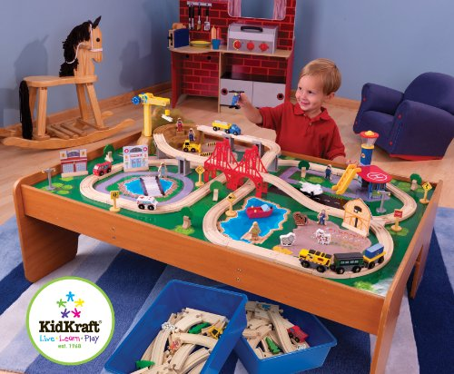 Toddler Train Tables That Make Kids REALLY Happy cover image