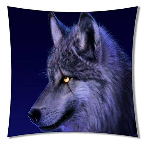 ?Pillow Cover Design Zippered Pillowcase Personalized Throw Pillowcases Decorative Bed Pillow Case Cover 18x18-T227