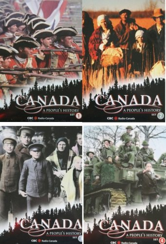 CANADA ~ A People's History - Complete Series (Set 1 2 3 & 4)