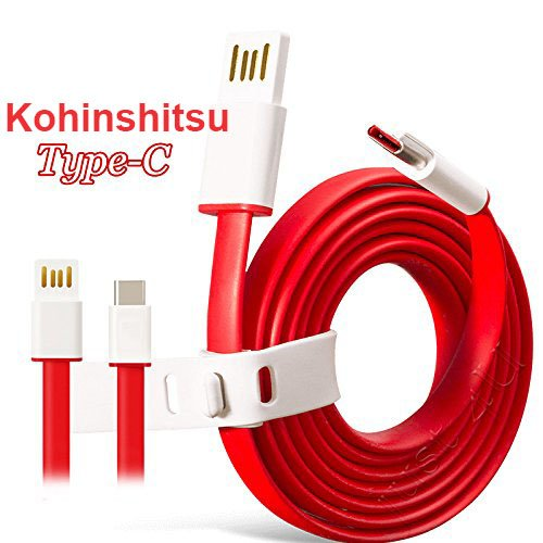 """Kohinshitsu [Google Qualified Passes """"Check R"""" Test] USB 3.0 Type C (USB-C) to Type A (USB-A) Cable for use with Google Nexus 5x / Google Nexus 6p / OnePlus 2 / 1+2 / Oneplus Two / Nokia N1 Tablet / Lenovo Zuk Z1 / Lumia 950 / Lumia 950XL and Other Type-C Supported Smartphones & Tablets"""