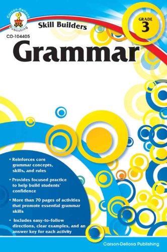 Skill Buildes Grammar Workbook, Grade 3 - 1