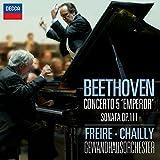"""Beethoven : Concerto pour piano n° 5 """"Empereur"""" - Sonate pour piano n° 32 en ut mineur, Op. 111"""
