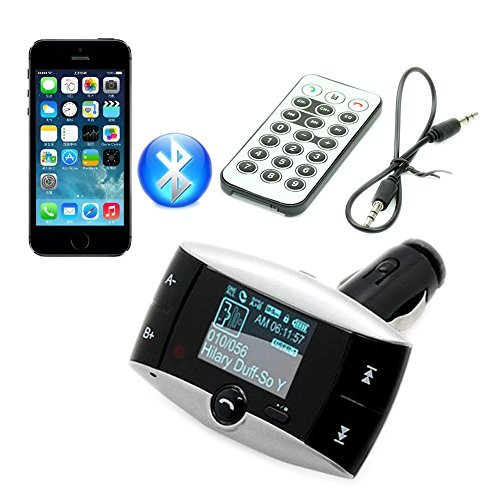 "1.5"" LCD Car Kit Bluetooth Mp3 Player Sd MMC USB Remote Fm T"