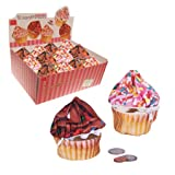 DCI Cupcake Yummy Pocket, Assorted Chocolate and Pink