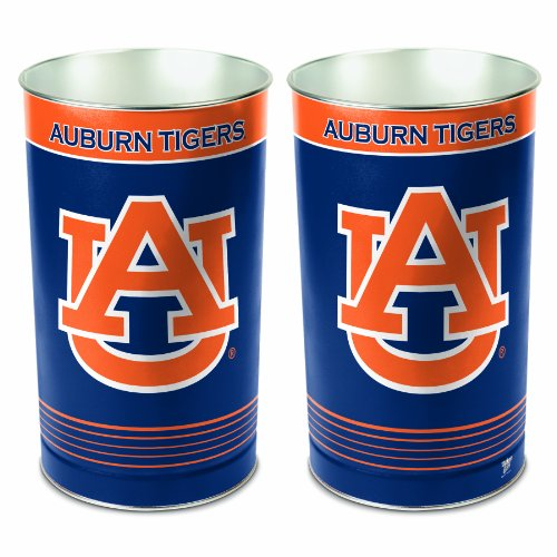 NCAA Auburn Tigers Wastebasket (Bears Garbage Can compare prices)