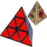 YKL Pyraminx Puzzle Cube Toy Black