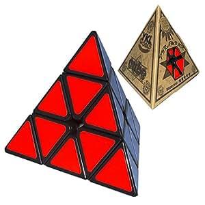 YKL WORLD YKL Pyraminx Puzzle Cube Toy Black