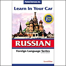 Learn in Your Car: Russian, Level 1 Audiobook by Henry N. Raymond Narrated by  uncredited