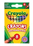 Crayola Coloured Crayons ( 8 Pack )