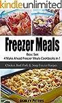 Freezer Meals Box Set: 4 Make Ahead F...
